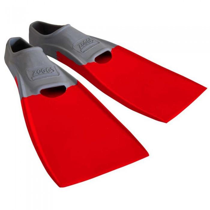 [해외]조그스 Blade Rubber Long Swimming Fins 6137896209 Grey / Red
