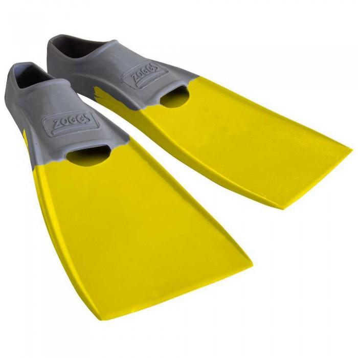 [해외]조그스 Blade Rubber Long Swimming Fins 6137896211 Grey / Yellow