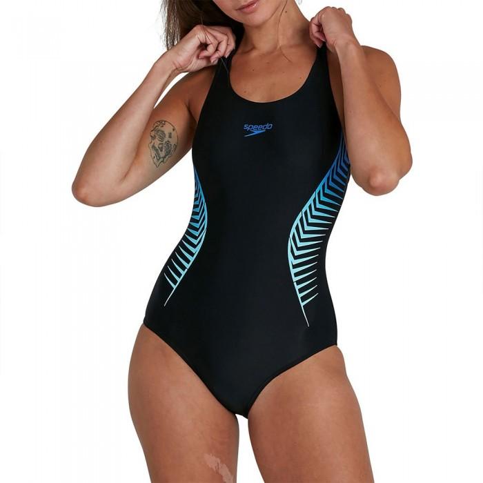 [해외]스피도 Placement Muscleback 6137927386 Black / Blue Flame / Light Adriatic
