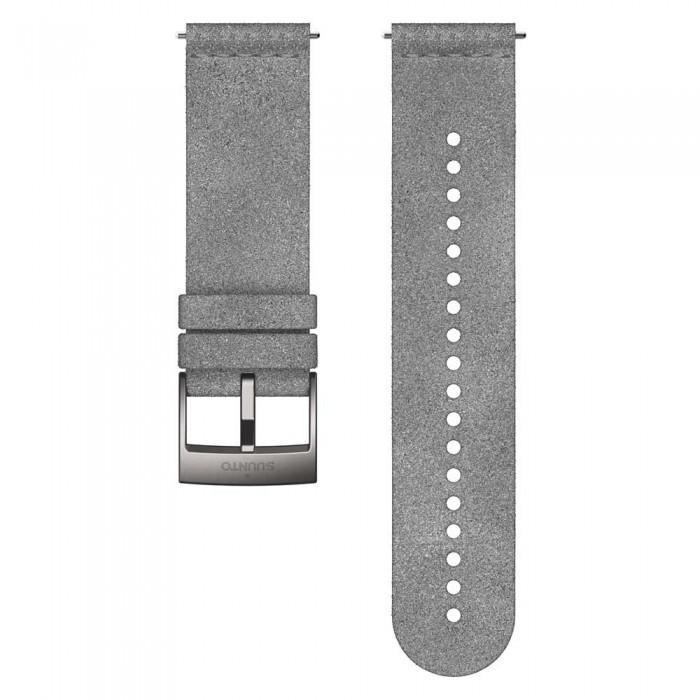 [해외]순토 24 mm Urban Microfiber 10137970544 Grey / Steel