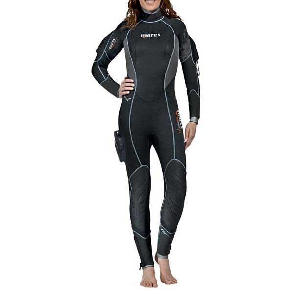 [해외]마레스 Flexa Therm She Dives 6.5 mm Refurbished 10138096734 Black / Grey