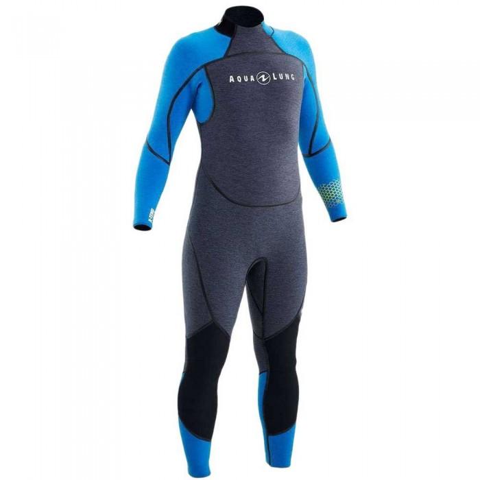[해외]아쿠아렁 Aquaflex 5 mm 10138095531 Grey / Blue