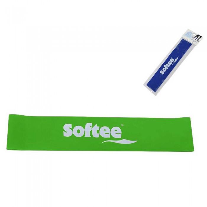 [해외]SOFTEE Resistance Rubber Fitness Band Extra-Strong 7137567771 Green