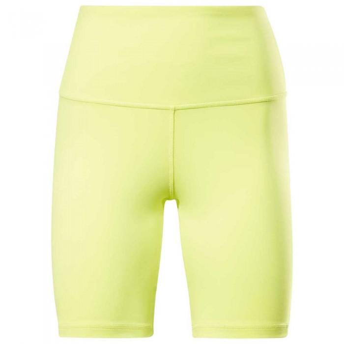 [해외]리복 Studio High Intensity Beyond The Sweat Short Tight 7137939555 Yellow Flare