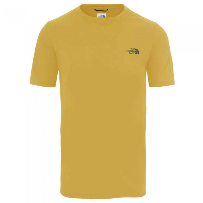 [해외]노스페이스 Reaxion Short Sleeve T-Shirt 7137832840 Golden Spice