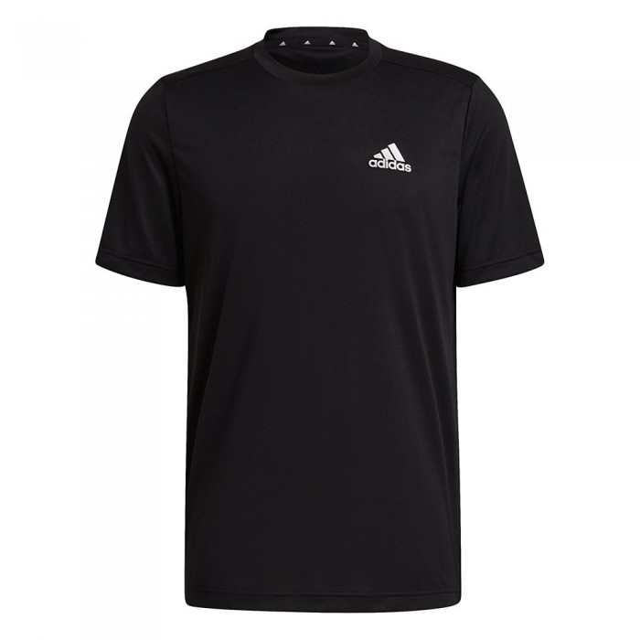[해외]아디다스 Aeroready Designed To Move Sport Short Sleeve T-Shirt 7137926965 Black / White