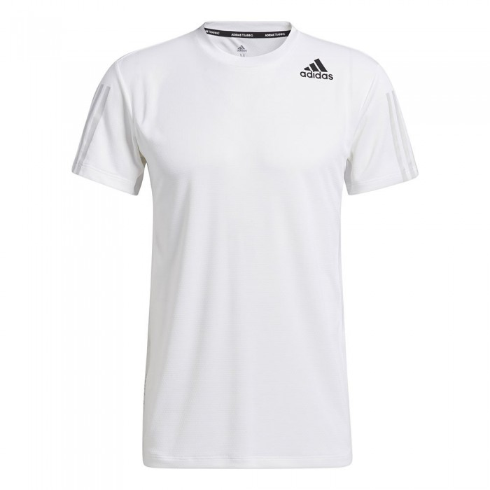 [해외]아디다스 Heat.RDY 3-Stripes Short Sleeve T-Shirt 7137927333 White