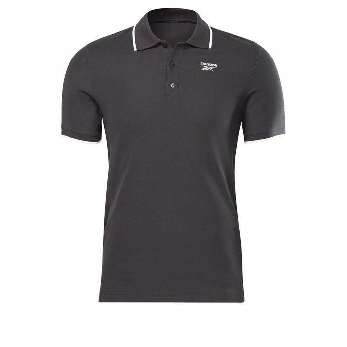 [해외]리복 Identity Short Sleeve Polo Shirt 7137938892 Black