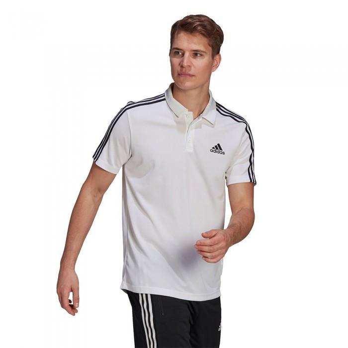 [해외]아디다스 4 Stripes PS Short Sleeve Polo Shirt 7137958123 White