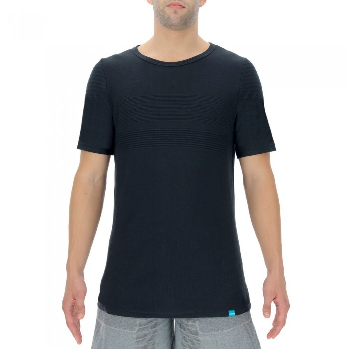 [해외]UYN Natural Training Short Sleeve T-Shirt 7138018620 Blackboard