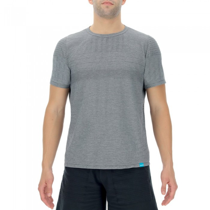 [해외]UYN Natural Training Short Sleeve T-Shirt 7138018622 Grey Melange