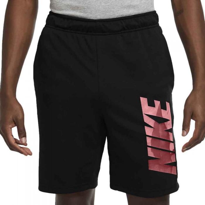 [해외]나이키 Dri Fit Graphic Short Pants 7138029296 Black