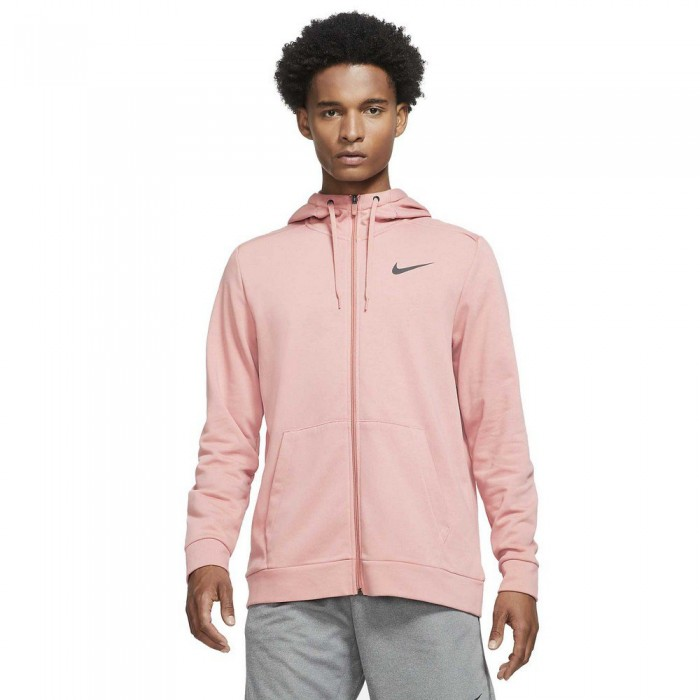 [해외]나이키 Dri Fit Full Zip Sweatshirt 7138030400 Rust Pink / Black