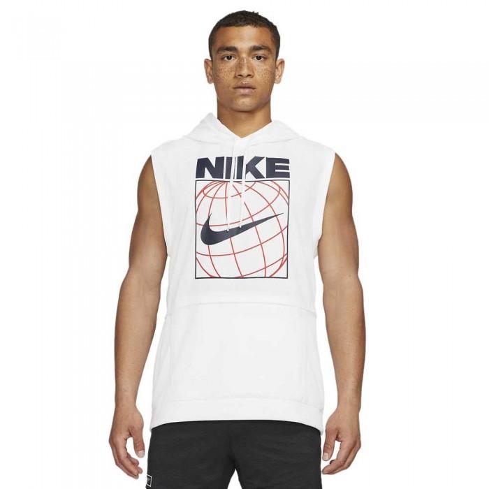 [해외]나이키 Dri FitleGraphic Hoodie 7138030844 White / White / Black