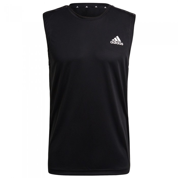 [해외]아디다스 3 Stripes Sleeveless Shirt 7138107581 Black