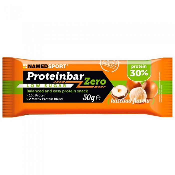 [해외]NAMED SPORT Protein Zero 50gr 12 Units Hazelnut 14137947730 Hazelnut