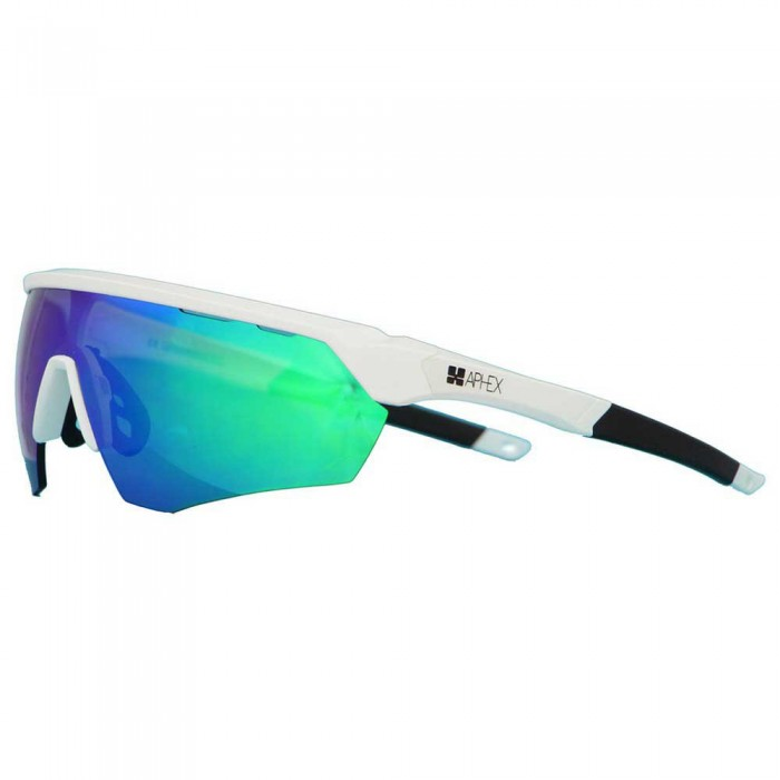 [해외]APHEX IQ 1.0 Polycarbonate Sunglasses 14138102874 Matt White