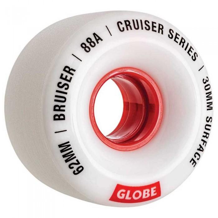 [해외]글로브 Bruiser 14137878279 White / Red / 62
