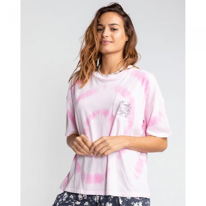 [해외]빌라봉 Rough Waves Short Sleeve T-Shirt 14137674603 Rose Dawn