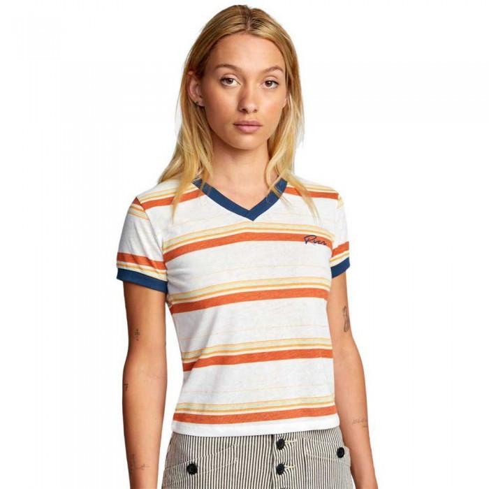 [해외]루카 Big Distance Stripe Short Sleeve T-Shirt 14137728284 Vintage White