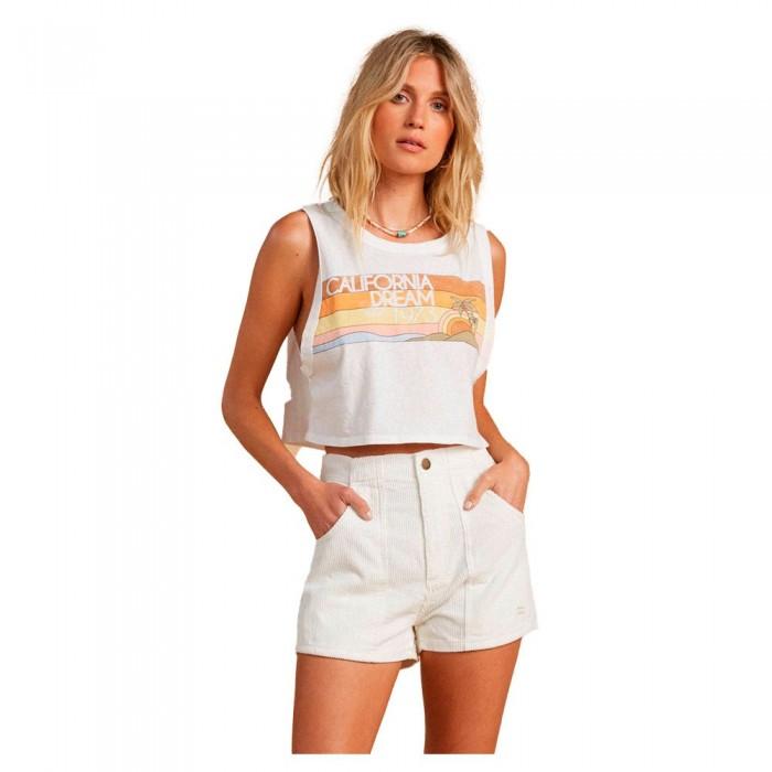[해외]빌라봉 Cut Off Braces T-Shirt 14138040629 Salt Crystal