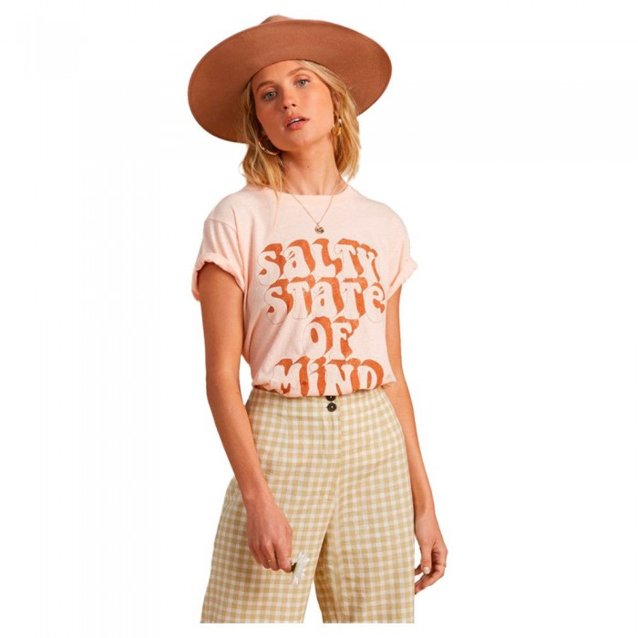 [해외]빌라봉 Not A Tourist Short Sleeve T-Shirt 14138040699 Tropcl Peach
