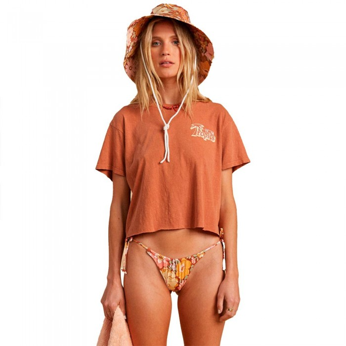 [해외]빌라봉 Beach Short Sleeve T-Shirt 14138040812 Bronze