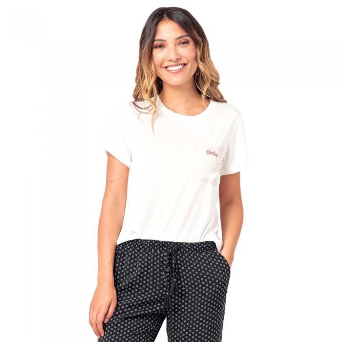 [해외]립컬 Pretty Pocket Short Sleeve T-Shirt 14138045369 Off White