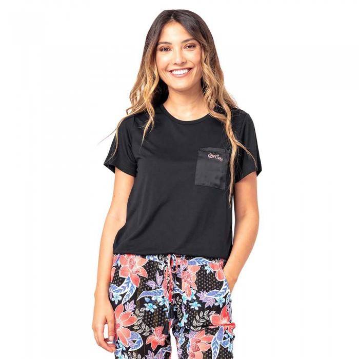 [해외]립컬 Pretty Pocket Short Sleeve T-Shirt 14138045370 Black
