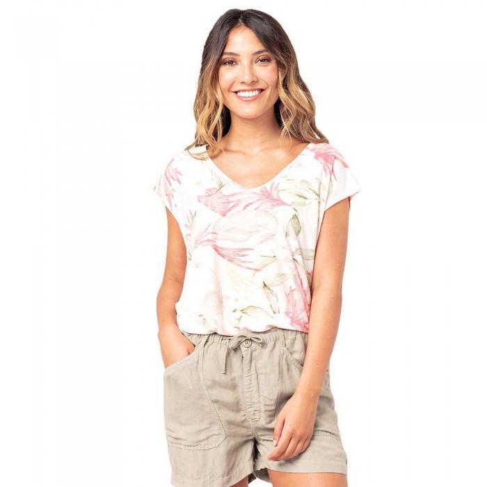 [해외]립컬 New Fabric Mix Braces T-Shirt 14138045379 White