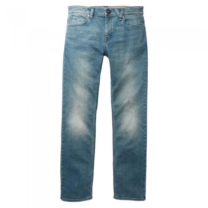 [해외]볼컴 Solver Denim 14136772029 Angled Bleach Wash