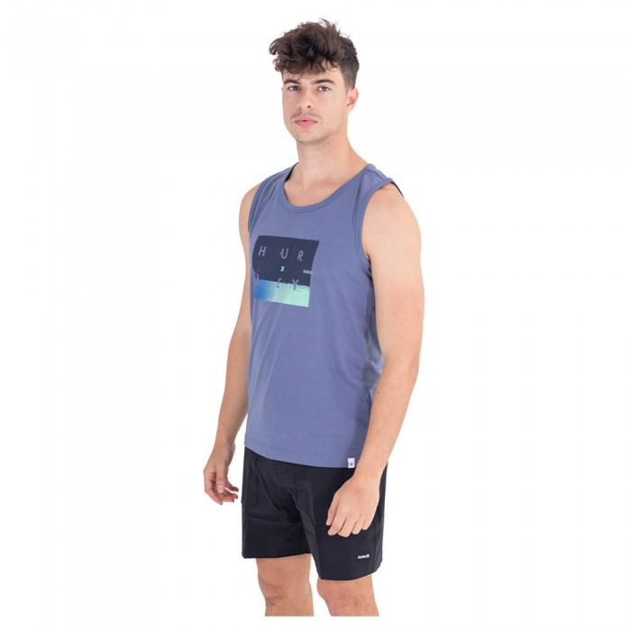 [해외]헐리 Navy Combo Braces T-Shirt 14137966194 Baltic Blue