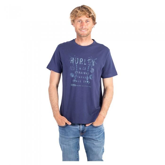 [해외]헐리 Igloo Short Sleeve T-Shirt 14137966196 Navy
