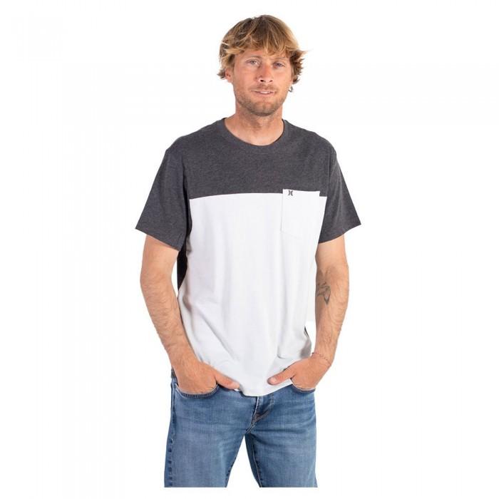 [해외]헐리 Blocked Short Sleeve T-Shirt 14137966199 Black