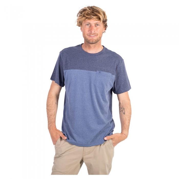 [해외]헐리 Blocked Short Sleeve T-Shirt 14137966200 Navy