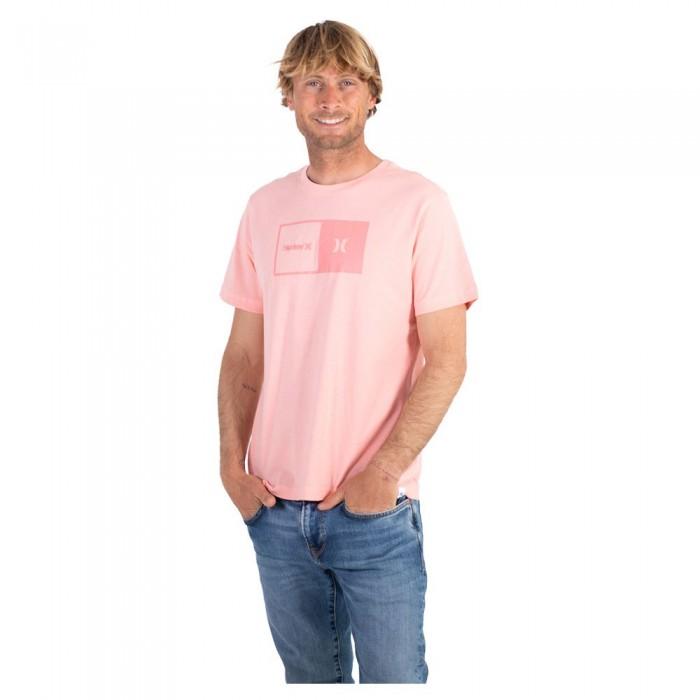 [해외]헐리 Half Short Sleeve T-Shirt 14137992320 Bleached Coral