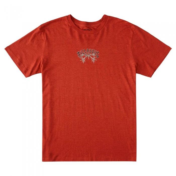 [해외]빌라봉 Arch Hemp Short Sleeve T-Shirt 14138040928 Auburn
