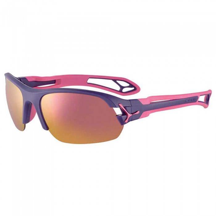 [해외]CEBE S´Pring 2.0 With Interchangeable Lenses 12137569144 Matt Purple / Pink