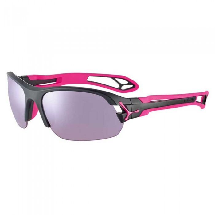 [해외]CEBE S´Pring 2.0 With Interchangeable Lenses 12137569145 Matt Black / Pink