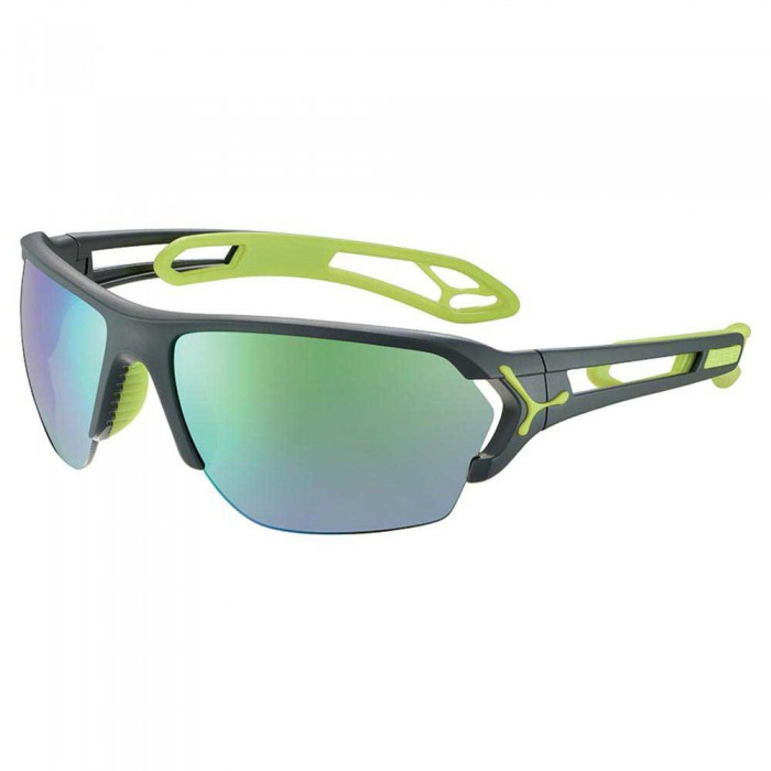 [해외]CEBE S´Track L With Interchangeable Lenses 12137569155 Matt Grey / Lime
