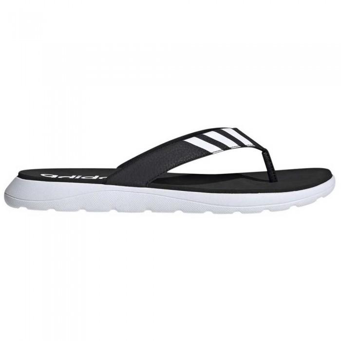 [해외]아디다스 Comfort Flip Flops 12137385531 Core Black / Footwear White / Core Black
