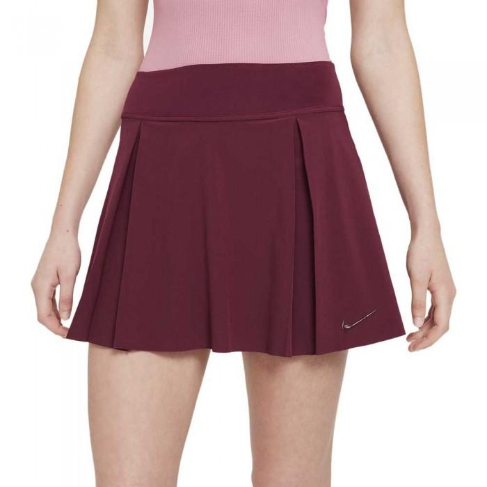 [해외]나이키 Court Club Regular Skirt 12138029446 Dark Beetroot / Dark Beetroot