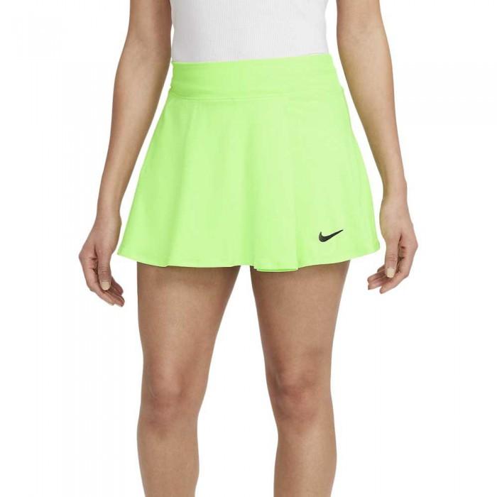 [해외]나이키 Court Victory Skirt 12138031602 Lime Glow / Black