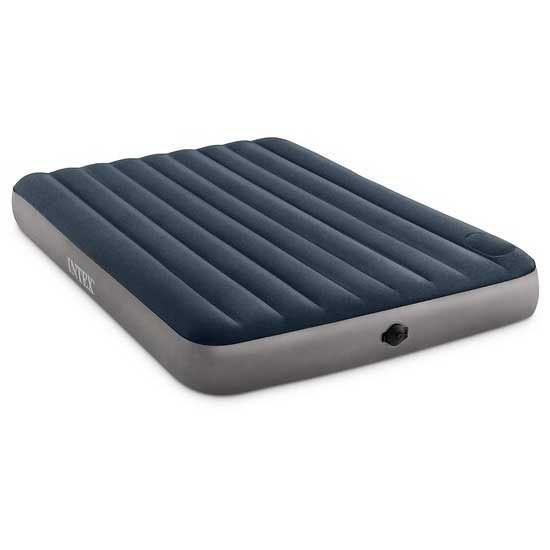 [해외]인텍스 Dura Beam Standard Single High 2 Step Battery System Double 152 x 203 x 25 cm 6138073257 Grey