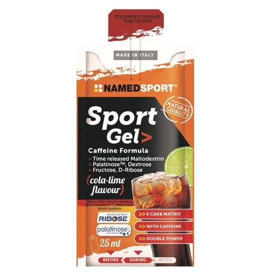 [해외]NAMED SPORT Sport Caffeine 25ml 15 Units Cola&Lime 6137552277 Cola / Lime