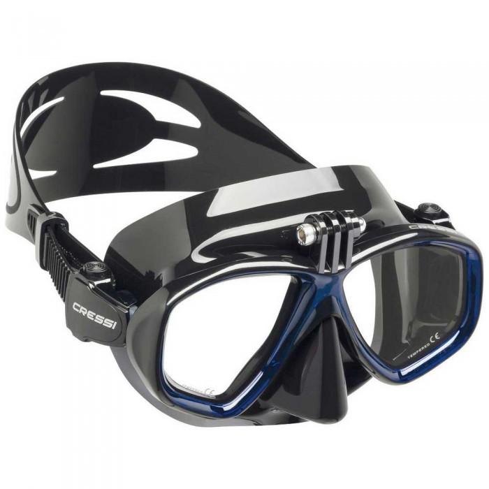[해외]크레시 Action Diving Mask 10138128089 Black / Blue