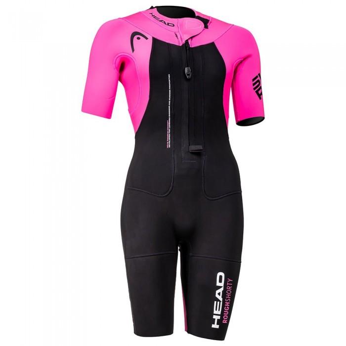 [해외]헤드 SWIMMING Swimrun Rough Shorty 6138024831 Black / Pink