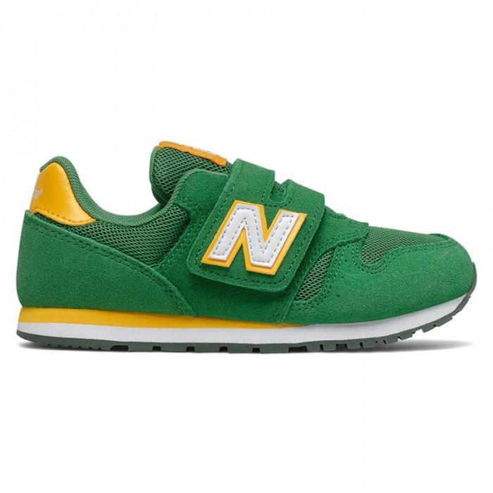 [해외]뉴발란스 373 Junior Wide Trainers 15137929553 Green