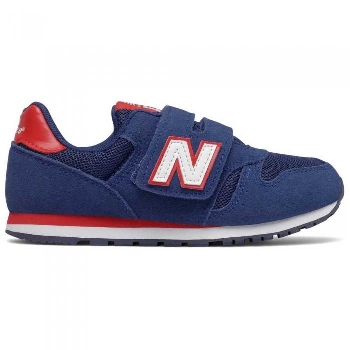 [해외]뉴발란스 373 Junior Wide Trainers 15137929554 Blue