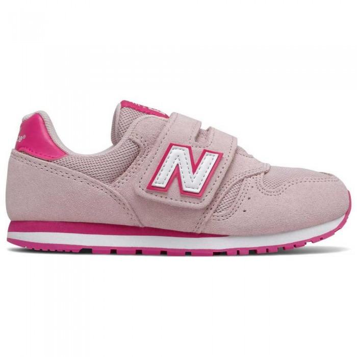 [해외]뉴발란스 373 Junior Wide Trainers 15137929555 Pink